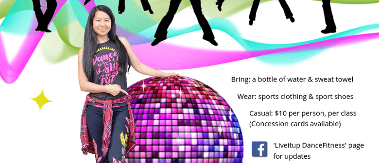 Zumba Fitness with Anna Ye: CANCELLED
