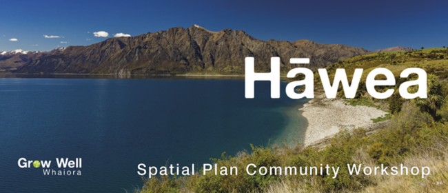 QLDC Spatial Plan Community Workshop - Hawea