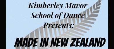 Kimberley Mavor School of Dance: Made in New Zealand