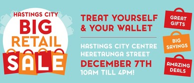 Hastings City Big Retail Sale