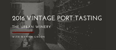 2016 Vintage Port Tasting