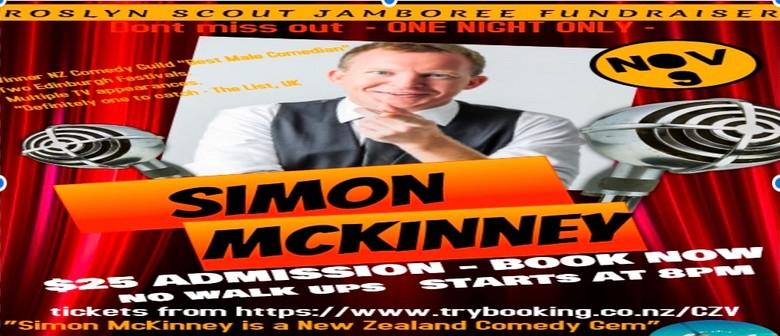 Simon McKinney Comedy Night - Roslyn Scouts Fundraiser