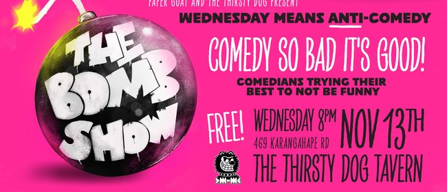 Comedy On K The Bomb Show