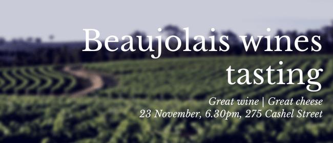 Beaujolais Wine & Cheese Tasting