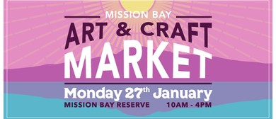 Mission Bay Art & Craft Market - Auckland Anniversary Day
