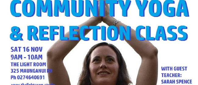 Community Yoga & Reflection Class with Sarah Spence