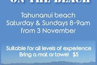 Image for event: Sunday Beach Yoga