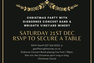 Image for event: Christmas Party – Gisborne Concert Band