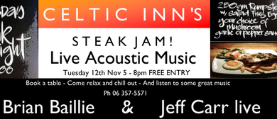 Celtic Inn's Steak Night Jam ft. Brian Baillie & Jeff Carr
