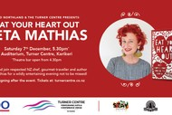 Image for event: Eat Your Heart Out By Peta Mathias