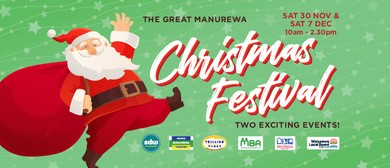 Manurewa Christmas Fun Day and Santa Parade