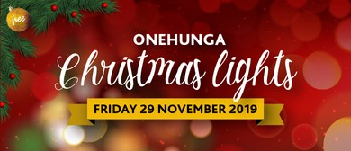 Onehunga Christmas Lights 2019