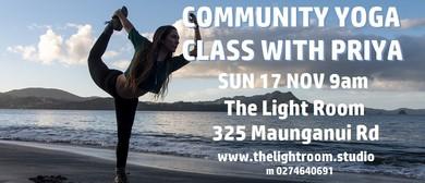 Community Yoga Class with Priya
