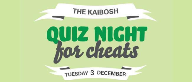 Kaibosh Quiz Night for Cheats