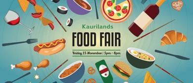 Kaurilands School Food Fair