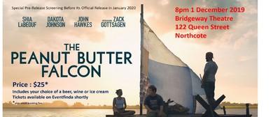 Peanut Butter Falcon: Movie Fundraiser for UpsideDowns
