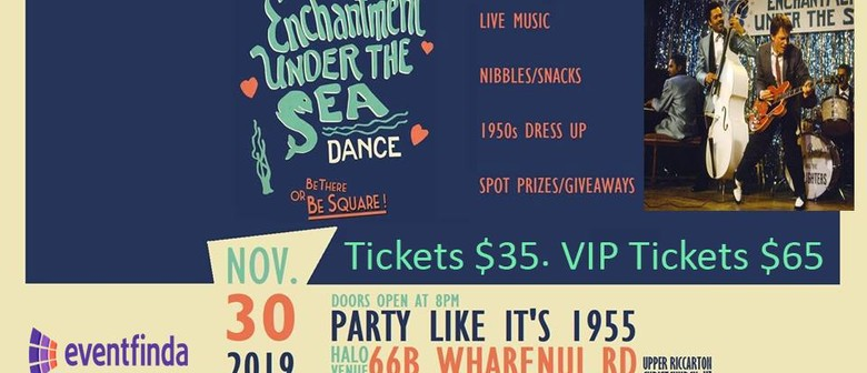 Back to the Future - Enchantment under the sea Ball: CANCELLED