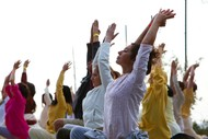 Image for event: Lunchtime Yoga Class