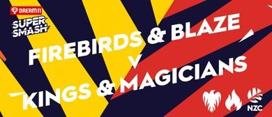 Dream11 Super Smash - Blaze v Magicians - Firebirds v Kings