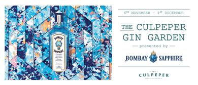 The Culpeper Garden Party: Bombay Sapphire