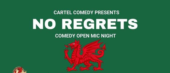 No Regrets - Comedy Open Mic