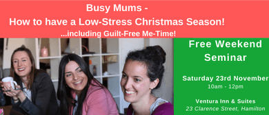 Busy Mums – How to have a Low-Stress Christmas Season