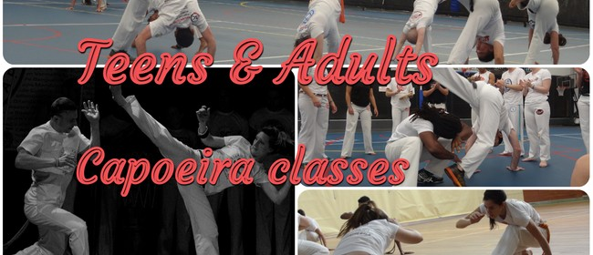 Remuera Teen/Adult Capoeira Classes Term 4
