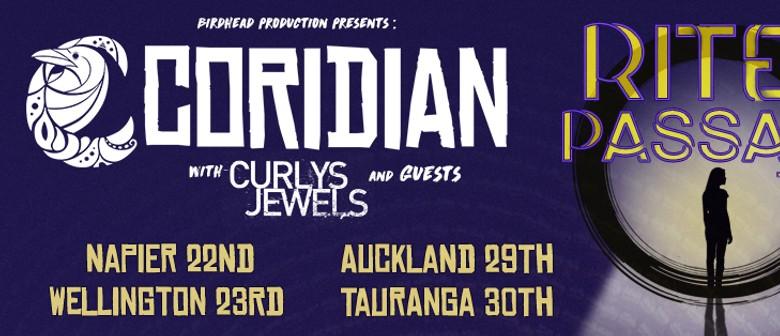 Coridian Rite of Passage Single Release Tour