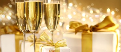 French Christmas Champagne & Savoury Canapés Tasting