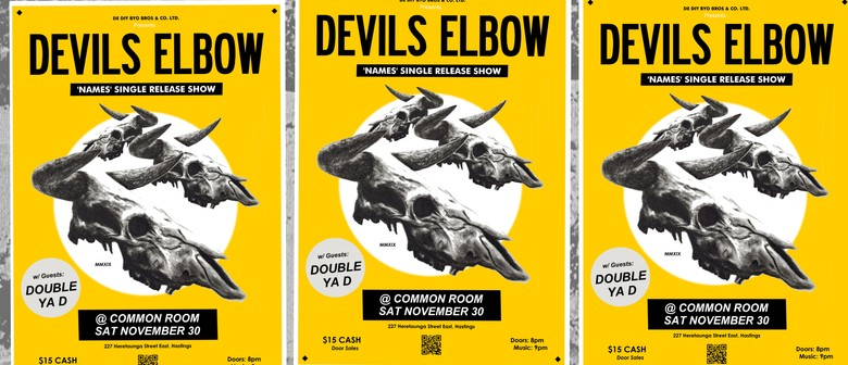 Devils Elbow Names Single Release Show