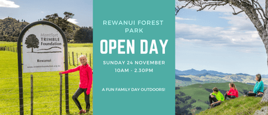 Rewanui Forest Park Open Day