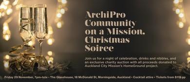 ArchiPro Community on a Mission - Christmas Soirée