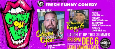 Comedy On Leigh