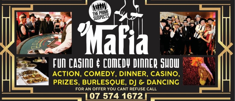 Mafia Casino Christmas Comedy Dinner & Quiz Show