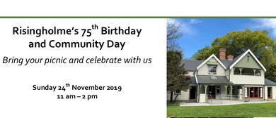 Risingholme's 75th Birthday and Community Day