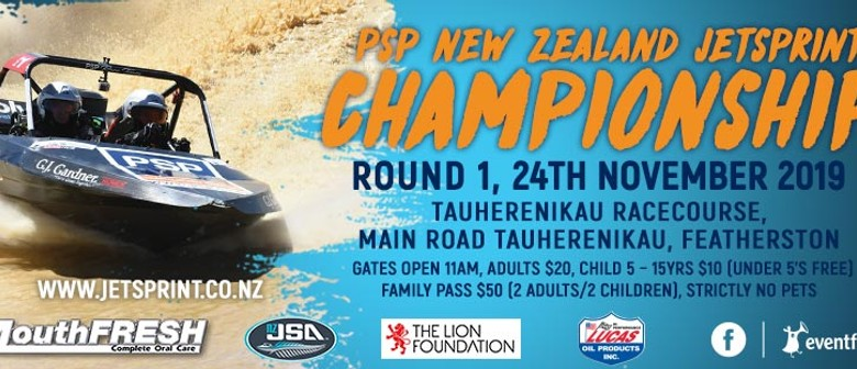 2020 New Zealand Jet Sprint Championship Round 1