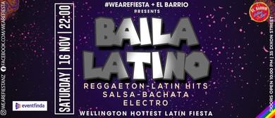 Baila Latino Fiesta