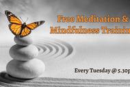 Image for event: Meditation & Mindfulness Training