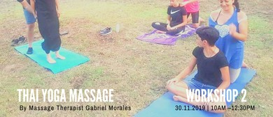 Thai Yoga Massage for Beginners - Workshop II