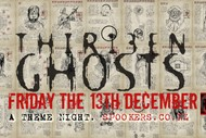 Image for event: Thirteen Ghosts Theme Night- Friday the 13th December