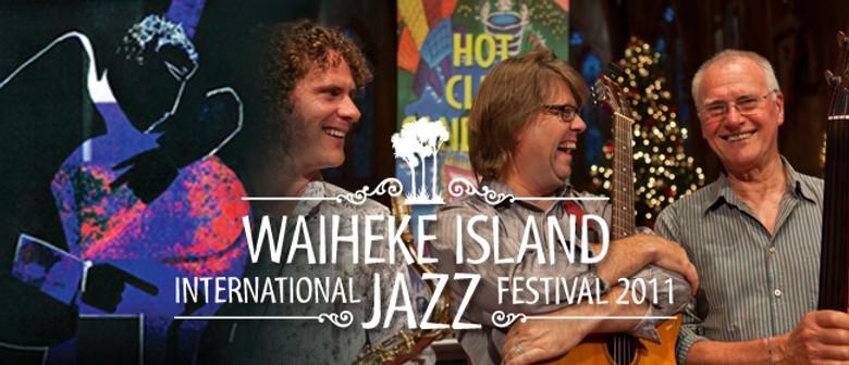 Hot Club Sandwich: Waiheke International Jazz Festival