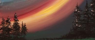 Paint & Chill Night - Aurora Australis