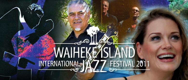 Waiheke International Jazz Festival Supper Club