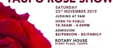 Taupo Rose Show