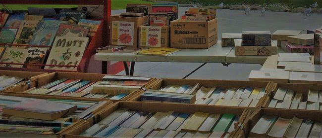 Rotorua District Library Book Sale
