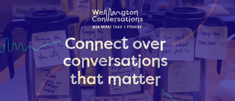 Wellington Conversations - Flight Coffee Hangar