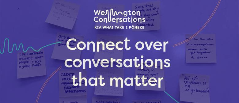 Wellington Conversations - Newtown Community Centre