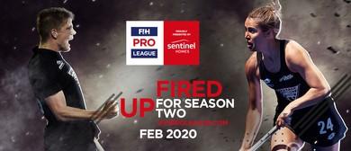 FIH Pro League - Black Sticks vs USA Women/Spain Men