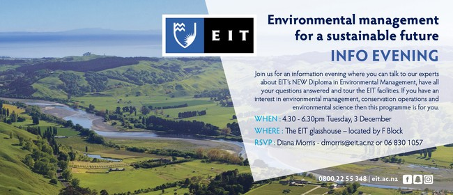 Environmental Management Information Evening