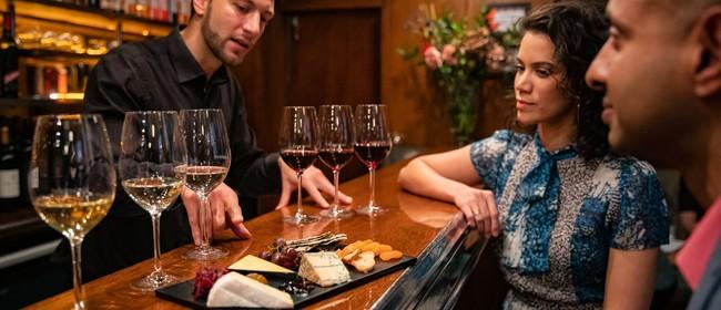Cheese and Wine Flight